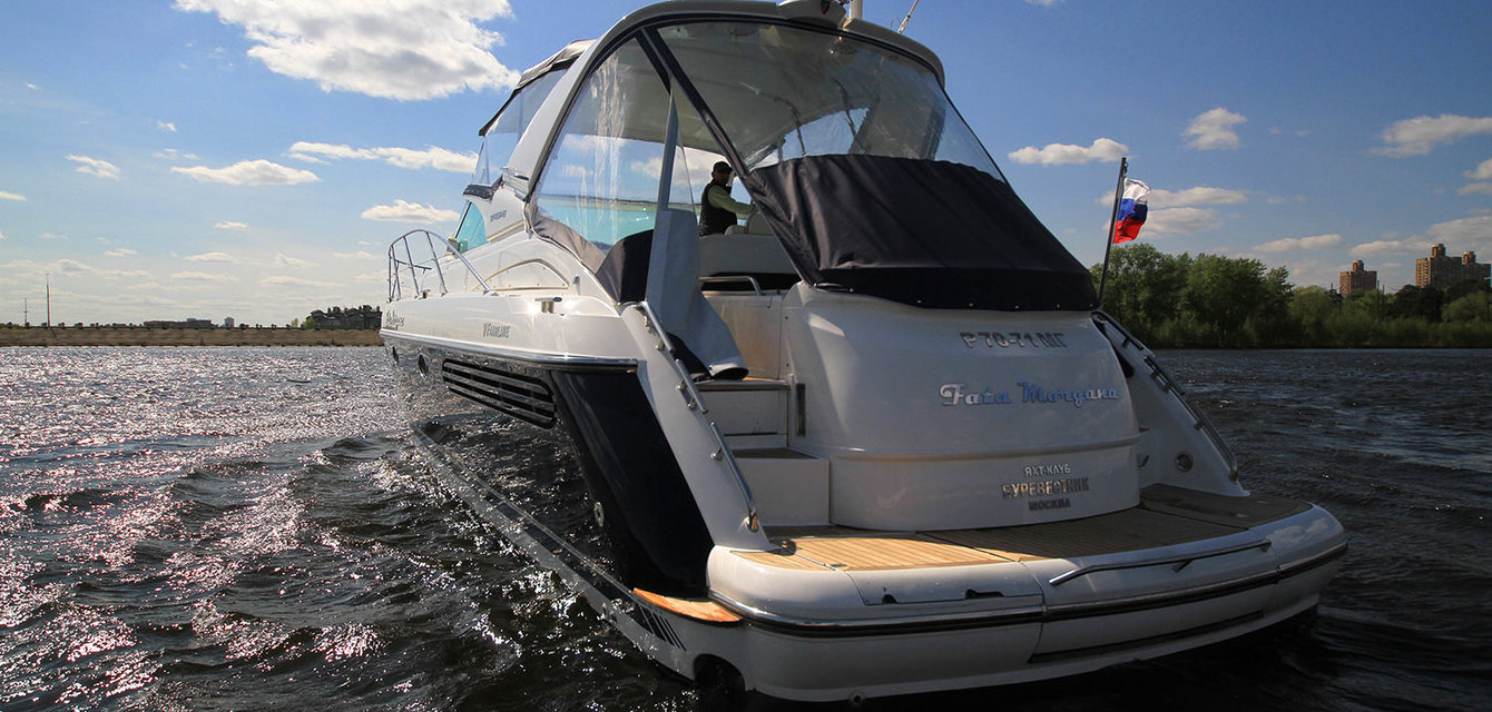 Экстерьер Fairline Targa 43 - 2003