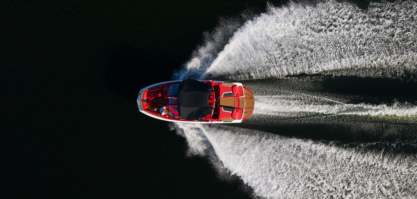 Вейксерф волна за Nautique Super Air G21