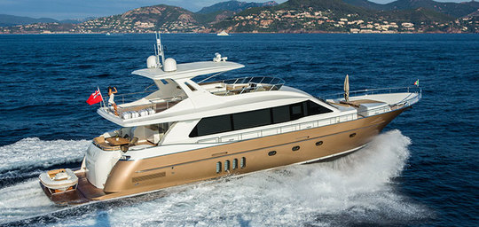 Van der Valk Continental two 23.00 Flybridge